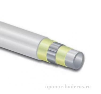Uponor Труба белая Uni Pipe Plus 110x10.0 MLC 5m  Артикул 1013457