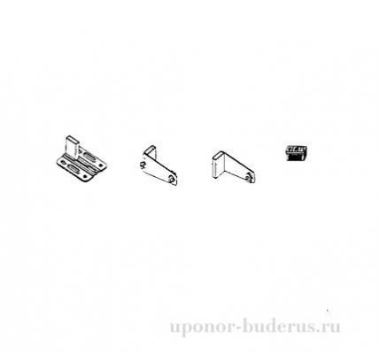 Крепежный комплект WEMEFA для  10 типа  панельных радиаторов  Артикул 81606164