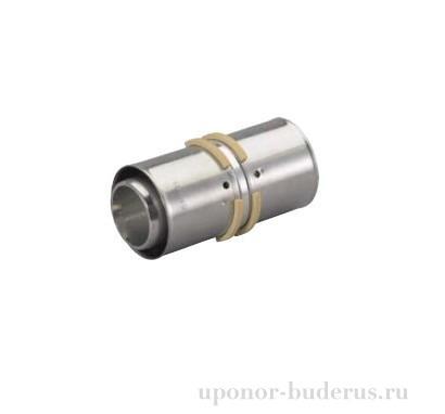 Uponor S-Press соединитель латунный 50-50  Артикул 1046935