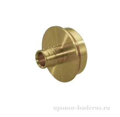 Uponor RS штуцер DR Q&E 75-RS2  Артикул 1085079