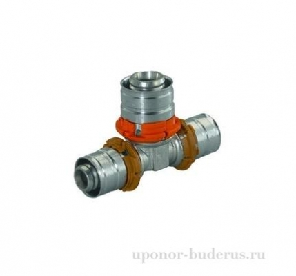 Uponor S-Press тройник 32x16x32 Артикул 1015053