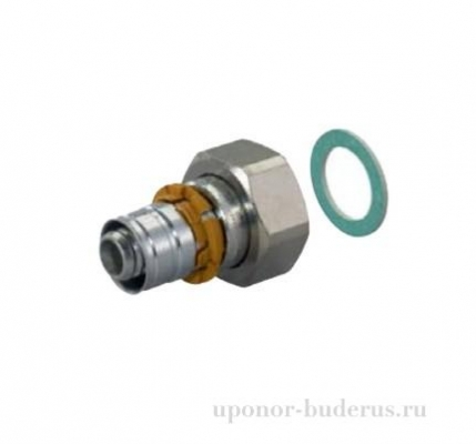 "Uponor S-Press штуцер с накидной гайкой 20x1/2""SN Артикул 1015283"