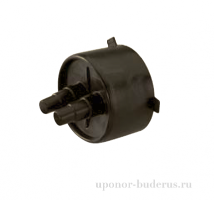 Uponor Ecofl ex резиновый концевой уплотнитель Twin 18+22+28-25+32+40/175 1034306
