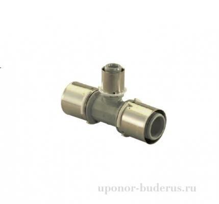 Uponor S-Press тройник композиционный редукционный PPSU 40-25-40  Артикул 1046394