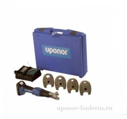 Uponor S-Press аккумуляторный инструмент Mini2 с клещами KSP0  Артикул 1083586