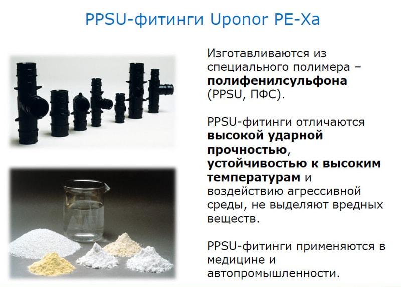 Uponor Фитинги PPSU