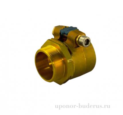 """Uponor Wipex зажимной наконечник PN10 40x5.5 G 1 1/4""""нр 1018339"""