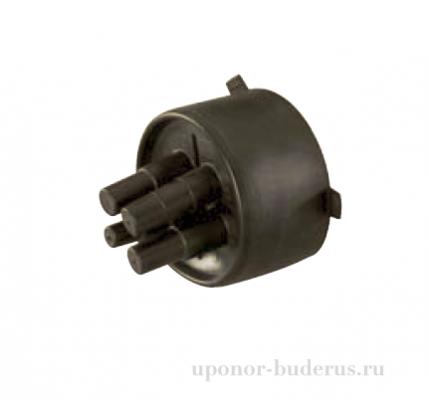Uponor Ecoflex резиновый концевой уплотнитель Quattrо 20+25+32/140 Артикул 1086838
