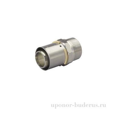 "Uponor S-Press штуцер с наружной резьбой 50-R2""НР  Артикул 1046906"