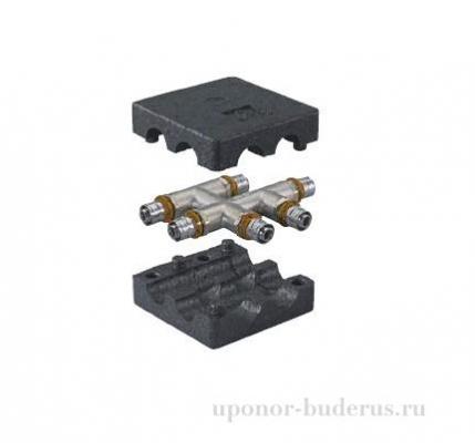 Uponor Smart Radi S-Press крестовина в теплоизоляции 20-16-20 Артикул 1015661