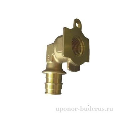 """Uponor Smart Aqua Q&E водорозетка под настенную коробку SP 20-Rp1/2""""ВР  Артикул 1047932"""