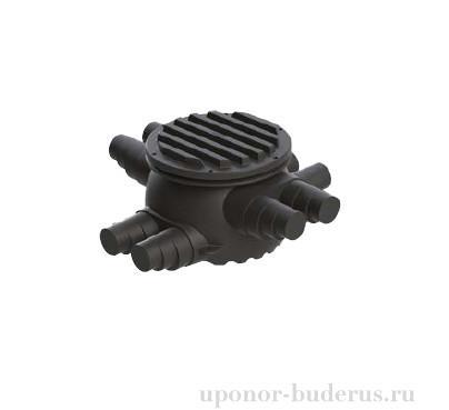 Uponor Ecoflex теплоизолированный колодец 2x250-6x140/175/200  Артикул 1084576