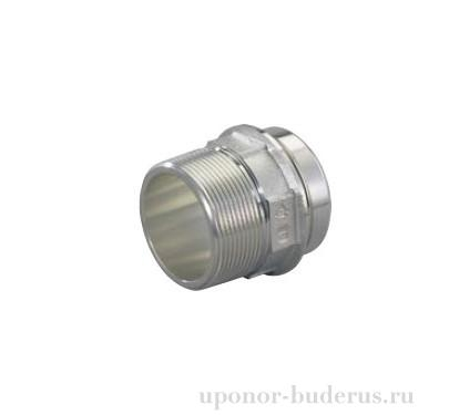 "Uponor RS адаптер с наружной резьбой R1 1/2""НР-RS2  Артикул 1059402"