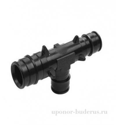 Uponor Q&E тройник редукционный PPSU 25x20x25 Артикул 1008691