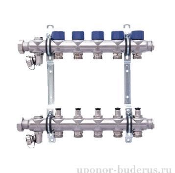 HANSA коллектор с клапанами выходы 3х3/4 Евроконус Артикул 255303