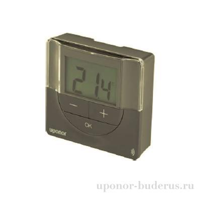 Uponor Smatrix Wave PLUS термостат цифровой+RH T-167 серый Артикул 1086320