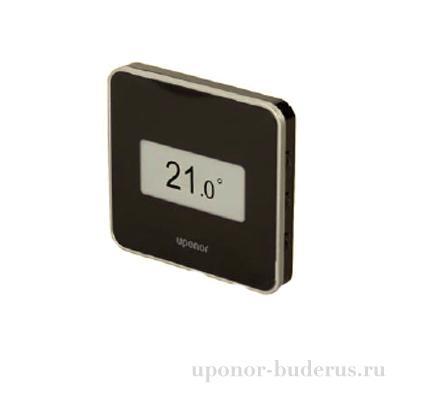 Uponor Smatrix Base термостат цифровой+RH Style T-149 BUS чёрный Артикул 1087814