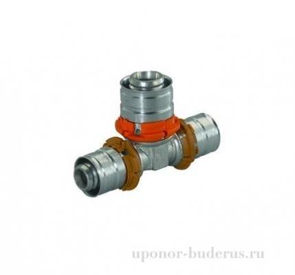 Uponor S-Press тройник 25x20x16 Артикул 1015015