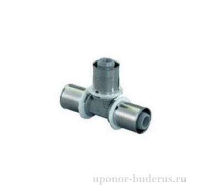 Uponor S-Press тройник композиционный PPSU 16-16-16 10 шт  Артикул 1022718