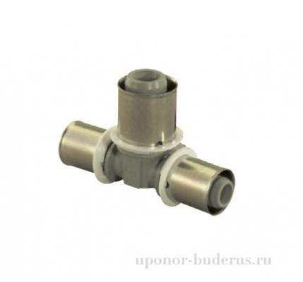 Uponor S-Press тройник композиционный редукционный PPSU 32-16-32 Артикул  1022732