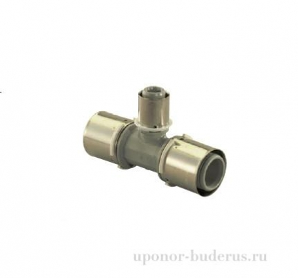 Uponor S-Press тройник композиционный редукционный PPSU 50-32-50 Артикул   1046399