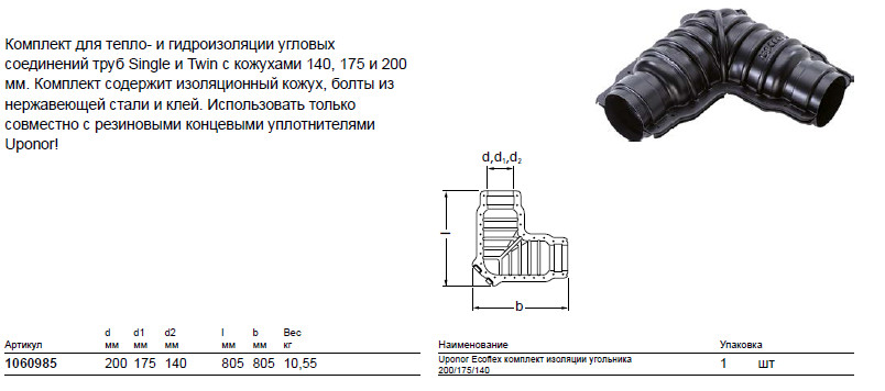 Размер на UponOr 1060985