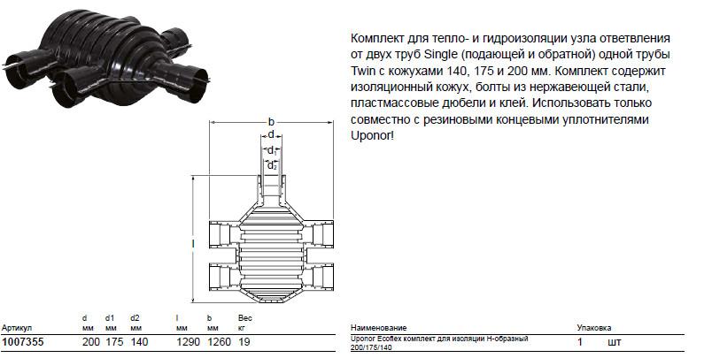 Размер на Uponor 1007355