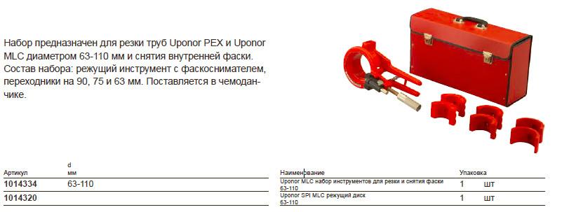 Размер на Uponor 1014320