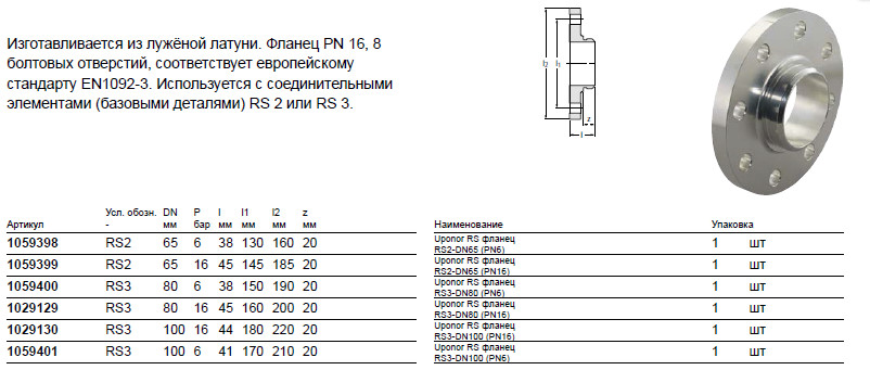 Размер на Uponor 1059400