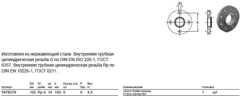 Размер на Uponor 1078370