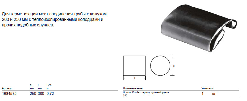 Размер на Uponor 1084575