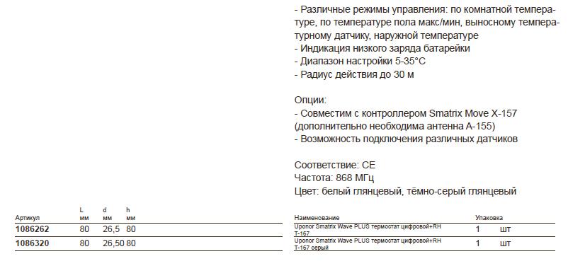 Размеры-наUponor-Smatrix----1086262