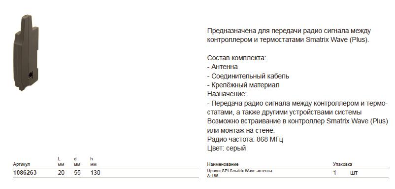 Размеры-наUponor-Smatrix-1086263
